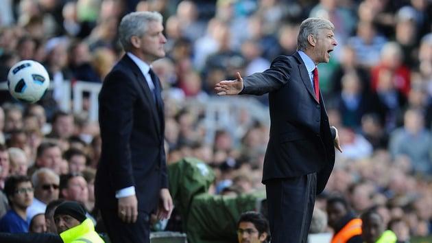Wenger: 'Arsenal sẽ chơi hiền lành trước Stoke'