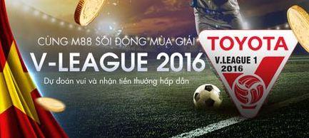 m88 v league 2016