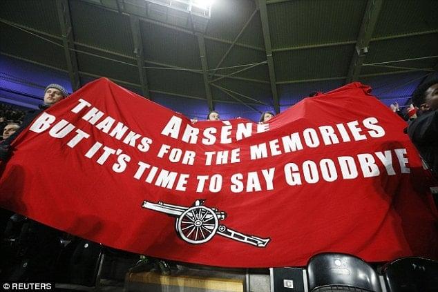 Tẩy chay Arsene Wenger
