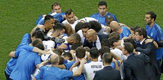 Zidane gửi thông điệp đến các học trò