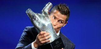 Ronaldo dành danh hiệu cầu thủ xuất sắc nhất châu Âu