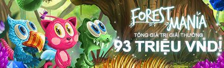 Forest Mania Slots - Tổng giải thưởng 93 triệu VND 1