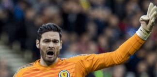 Thủ thành Celtic Craig Gordon sẽ rút khỏi đội hình Scotland