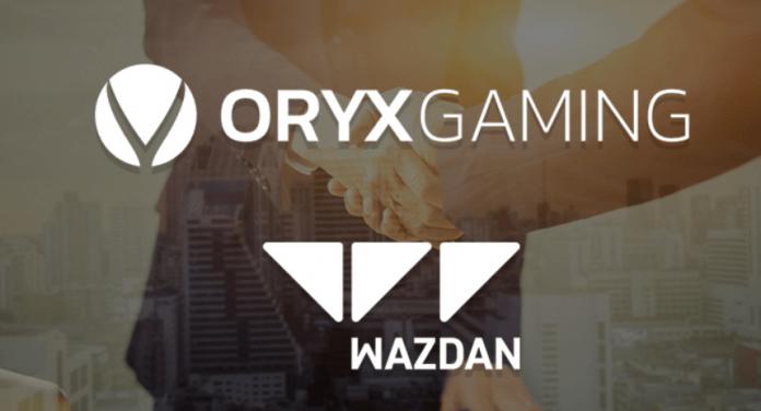 Wazdan mở rộng phạm vi bằng thỏa thuận với Oryx Gaming