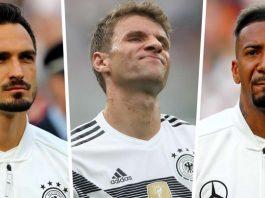 Boateng, Hummels & Muller đều bị Đức trục xuất khi Low đưa ra thông báo đáng kinh ngạc