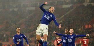 Leicester chiến thắng 9-0 trước Southampton