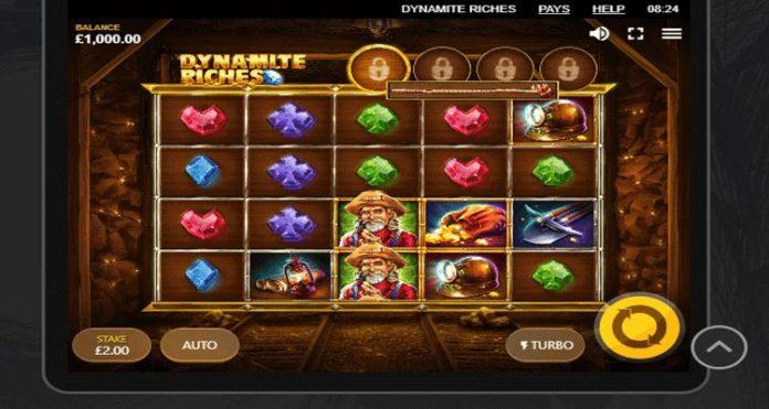 Red Tiger phát hành máy Dynamite Riches mới