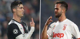 Cristiano Ronaldo vs Miralem Pjanic