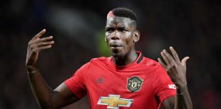 Tiền vệ Paul Pogba Man United