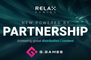 Relax Gaming ký thỏa thuận với G.Games