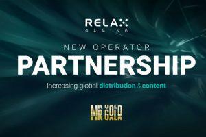 Relax Gaming hợp tác Mr Gold Casino